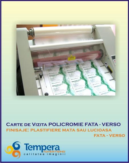 carti de vizita plastifiate