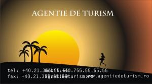 Model carte de vizita agentie de turism2