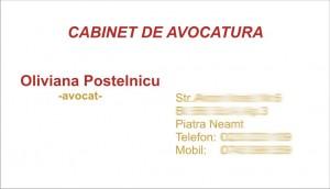 avocat oliviana postelnicu