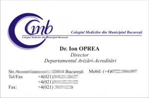 colegiul medicilor din municipiul bucuresti