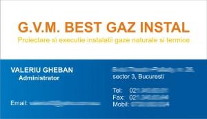 gvm best gaz install