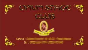 opium stage